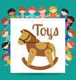 toys kids vector image