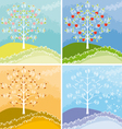 Appletree graphic vector image