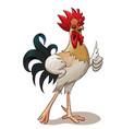 happy cock vector image