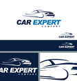 Car Automotive Symbol Branding ElementTemplate vector image vector image