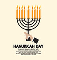 Hanukkah Day Celebration vector image