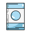washing machine technology element design vector image