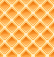 Waffles pattern seamless texture vector image