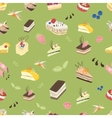 Sweet spring pattern vector image