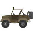 car for hunter vector image