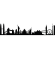 cityscape worldwide vector image
