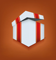 Box icon opened vector image vector image