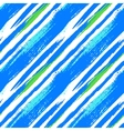 Multicolor striped pattern with diagonal lines vector image