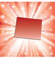 Red Colorado vector image