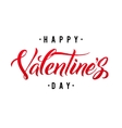 Happy Valentine s Day Hand Lettering vector image