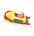 icon amusement park ride vector image vector image