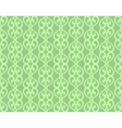 Green Vintage Forged Lacing Seamless pattern vector image