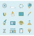 Science And Study Icon Set vector image