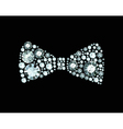 Diamond Bow Tie vector image