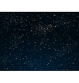 background Starry night Sky Eps 10 vector image