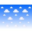 cloud metal icon vector image
