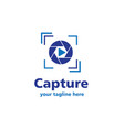 capture business logo vector image