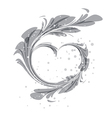 Art heart vector image vector image