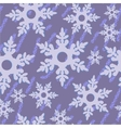 Seamless abstract snowflake grunge texture 535 vector image vector image