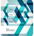 Modern geometrical abstract template vector image