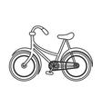 single bike icon vector image