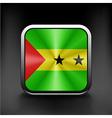 original and simple Sao Tome e Principe flag vector image