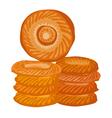orient bread vector image vector image