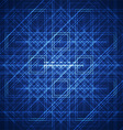 abstract geometric lines vector image