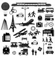 Journey vector image
