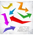 modern arrows vector image