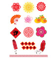 chinese new year element vector image