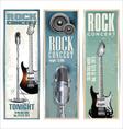 Rock concert poster vector image