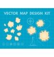 Treasure Map Generator vector image