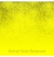 Abstract Yellow Technology Glow Background vector image vector image
