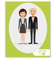 Couple icon design vector image