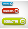 contact us vector image
