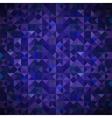 Old Mosaic Blue-Mosaic-Banner vector image