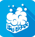 Wet Soap Icon vector image
