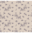seamless pattern vintage floral vector image vector image