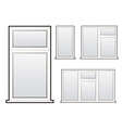 window collection vector image
