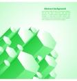 Cristal green prism vector image vector image