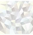 White Mosaic Background vector image