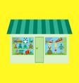 toy shop vector image