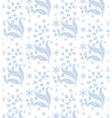 winter flowers vector image