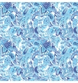 Blue Creative Pattern vector image