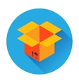 box delivery icon vector image
