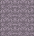 Intricate Violet Grey Luxury Seamless Pattern on vector image