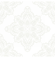 Ornament lace pattern vector image