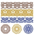 ornaments for design vector image