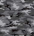 camouflage grey seamless pattern vector image